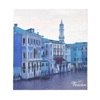Bloc De Notas Gran Canal, Venecia, Italia