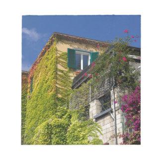 Bloc De Notas Hojas coloridas en casa