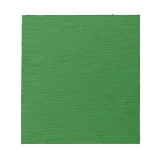 Bloc De Notas Holzmaserung verde
