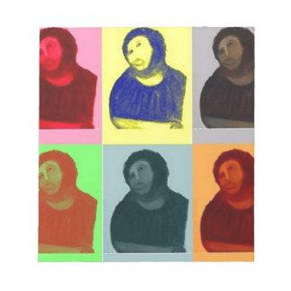 Bloc De Notas Homo de Ecce - estilo del arte pop