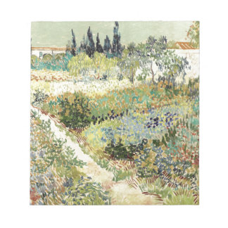 Bloc De Notas Jardín de Vincent van Gogh en Arles