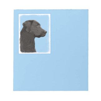 Bloc De Notas Labrador retriever (negro)