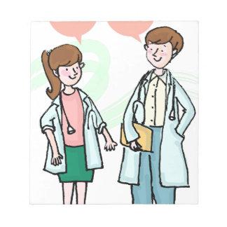 Bloc De Notas Los doctores Talking