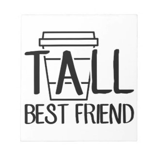 Bloc De Notas Mejor amigo alto