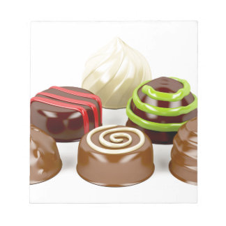 Bloc De Notas Mezcla de caramelos de chocolate