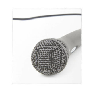 Bloc De Notas Micrófono - charla a mí