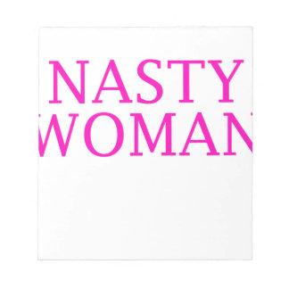 Bloc De Notas mujer