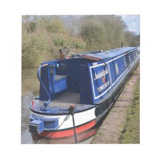 Bloc De Notas Narrowboat infatigable