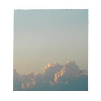 Bloc De Notas nubes en Rumania