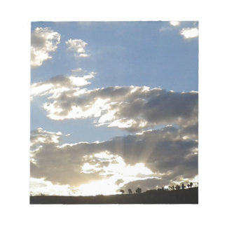 Bloc De Notas Nubes y Sun