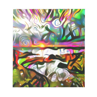 Bloc De Notas Orilla abstracta