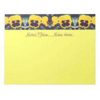 Bloc De Notas Pensamientos amarillos