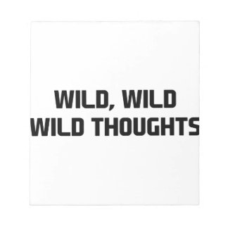 Bloc De Notas Pensamientos salvajes salvajes