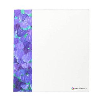 Bloc De Notas Pétalos púrpuras