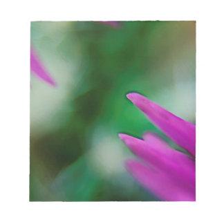 Bloc De Notas Pétalos rosados del cactus
