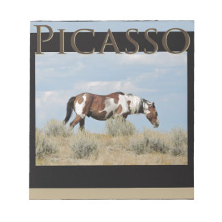 Bloc De Notas Picasso, semental del lavabo de la arena, Colorado