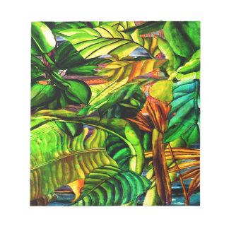 Bloc De Notas Plantas tropicales