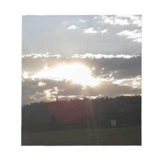 Bloc De Notas Puesta del sol de Imperani