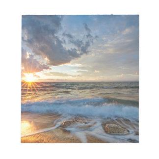Bloc De Notas Puesta del sol impresionante