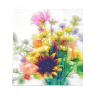 Bloc De Notas Ramo del Wildflower del verano