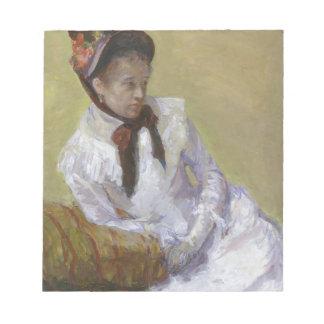 Bloc De Notas Retrato del artista - Mary Cassatt