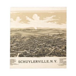Bloc De Notas schuylerville1889