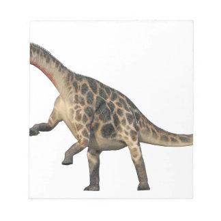 Bloc De Notas Situación del Dicraeosaurus