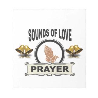 Bloc De Notas sonidos del cielo del amor
