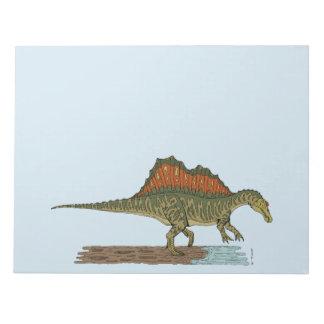 Bloc De Notas Spinosaurus
