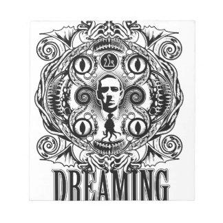Bloc De Notas Sueños de Lovecraftian
