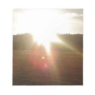Bloc De Notas Sun de oro 2