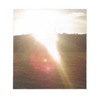 Bloc De Notas Sun de oro 3