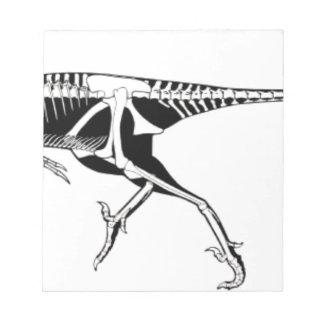 Bloc De Notas Troodon