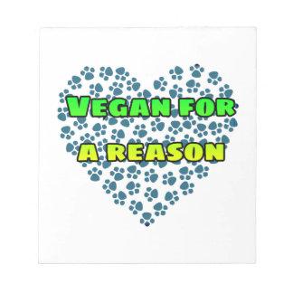 Bloc De Notas Vegano por una razón