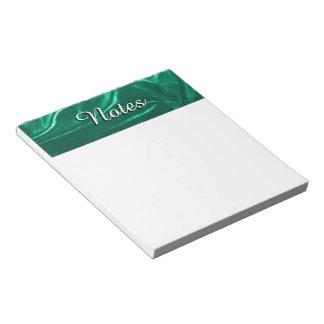 Bloc De Notas Verde verde azulado Terciopelo-como la foto 09 de