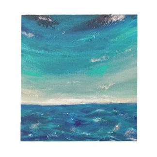 Bloc De Notas Vista al mar