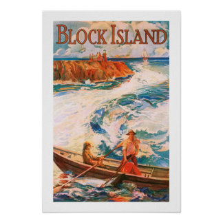 Block Island Póster