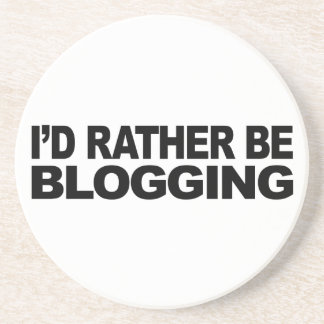 Blogging bastante posavasos de arenisca