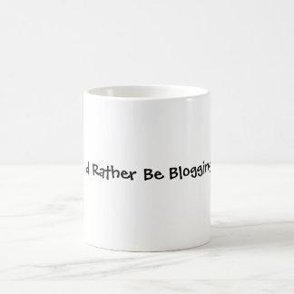 Blogging bastante tazas