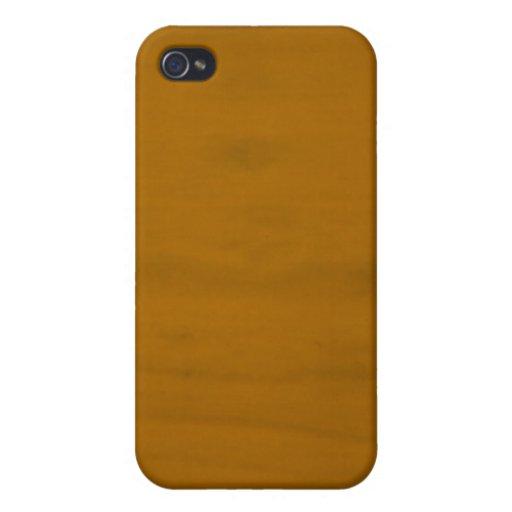 Blonde del vintage iPhone 4 protectores