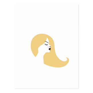 Blonde hermoso postal