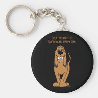 Bloodhound Smile Llavero