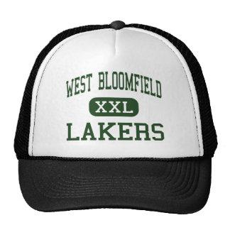 Bloomfield - Lakers del oeste - altos - Bloomfield Gorros Bordados