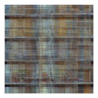 Bloque de apartamentos detrás de MOCA Arte Con Fotos