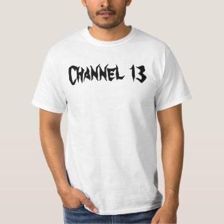 Bloque del canal 13 camiseta