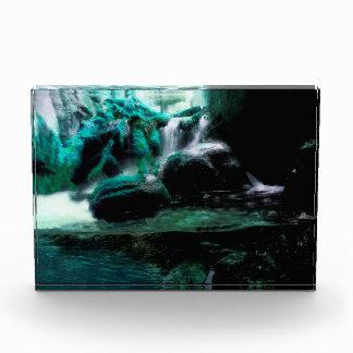 Bloque Para Fotos Cascada verde