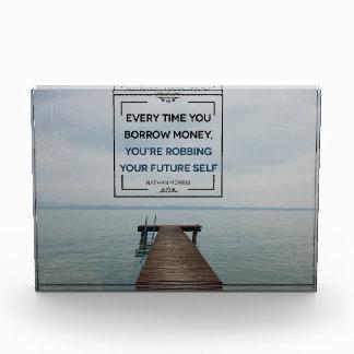Bloque Para Fotos Robo de su uno mismo futuro