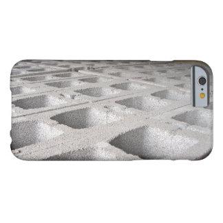 Bloques de cemento de la construcción funda de iPhone 6 barely there