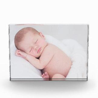 Bloques de la foto con imagen del bebé