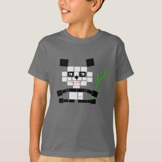 Bloques de la panda camiseta